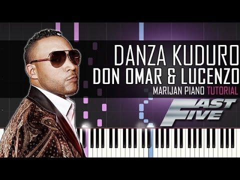 How To Play: Don Omar & Lucenzo - Danza Kuduro | Piano Tutorial