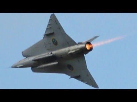 J 35 Draken Försvarsmaktens Flygdag 2018 Swedish Air Force