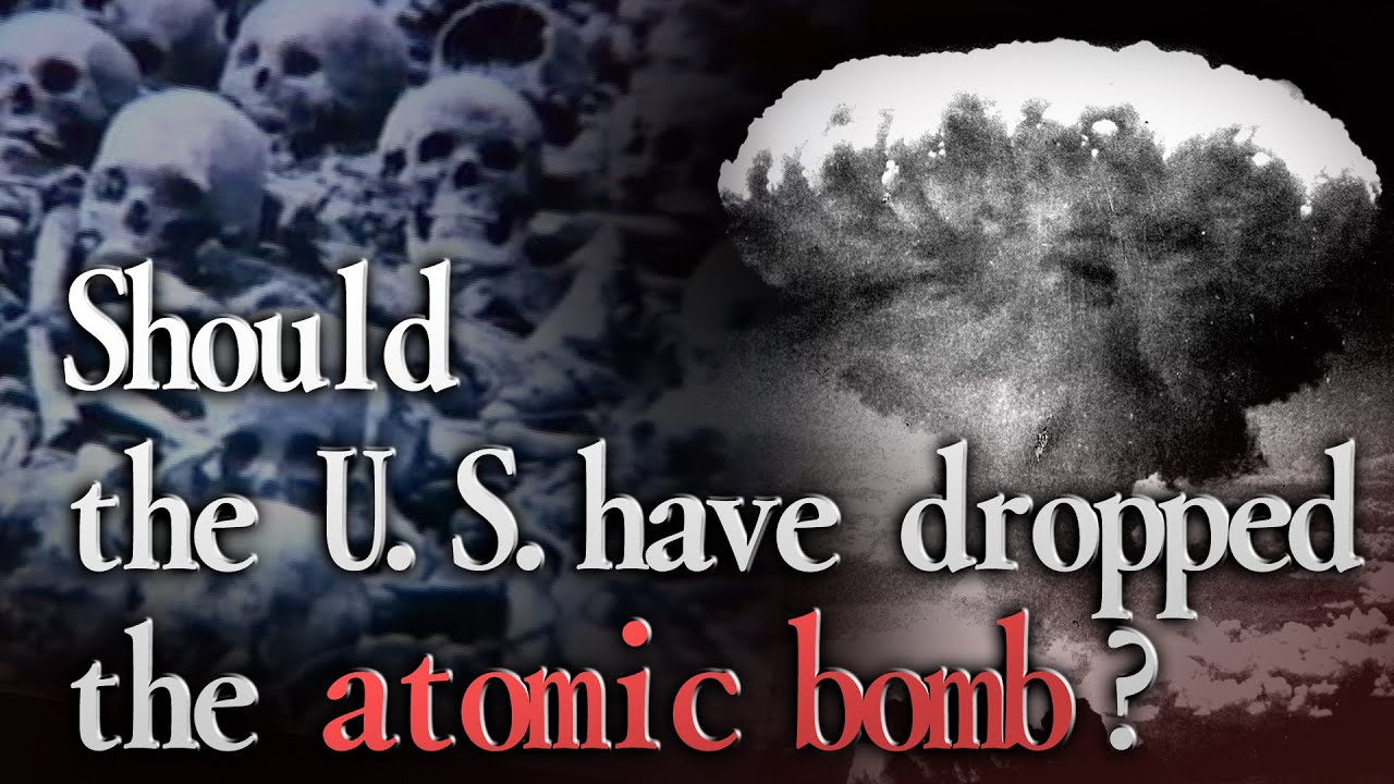was the us justified in dropping the atomic bomb essay Was the dropping of the atomic bomb justified essay to drop the atomic bomb this being as it is evident that since the emergence of japan as world power, the us.