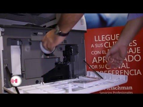 Ricoh MP 255430543554405450546054  Cambio de Tóner