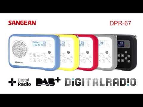 Sangean Portable Radios【PR-D18、DPR-67、DPR-77】