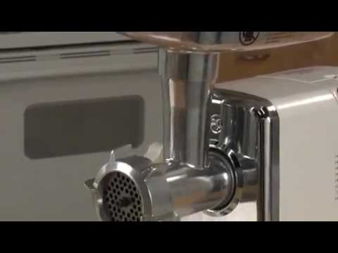 kitchener #12 electric meat grinder 1 2 hp - youtube