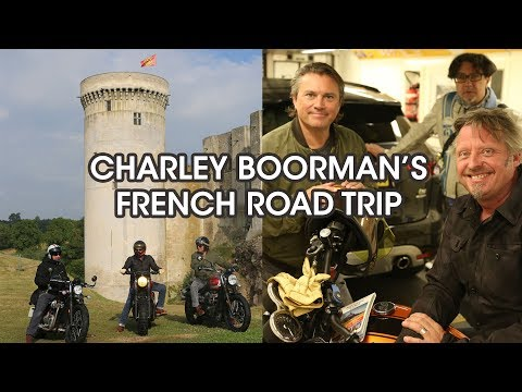 Charley Boorman's French road trip with Eurotunnel Le Shuttle