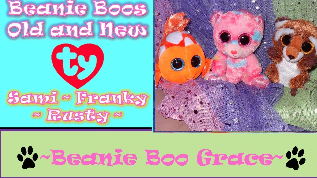 762520d6825 Beanie Boo Sami  157~PLUS NEW 2018!!~Franky and Rusty  158    159 ...