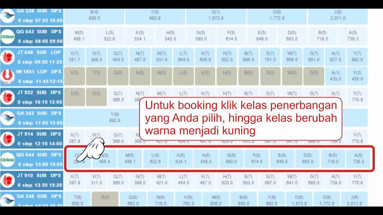 Tutorial Booking Tiket Pesawat Di Bumss Bisnis Travel ...
