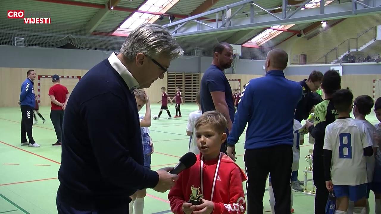 Rafael Barišić, NK Vrapče, najbolji igrač i strijelac turnira u kategoriji U8