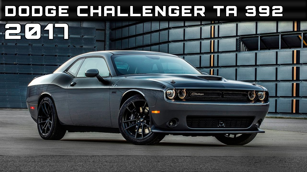 2017 dodge challenger ta 392 review rendered price specs release date youtube. Black Bedroom Furniture Sets. Home Design Ideas