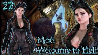 Resident Evil 4 - Mod Welcome to Hell - 22 - Muitos T-900 contra Night Fox