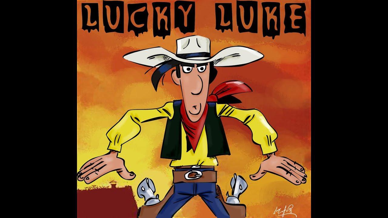 Dessin MANGA: Lucky Luke Film Dessin Anime
