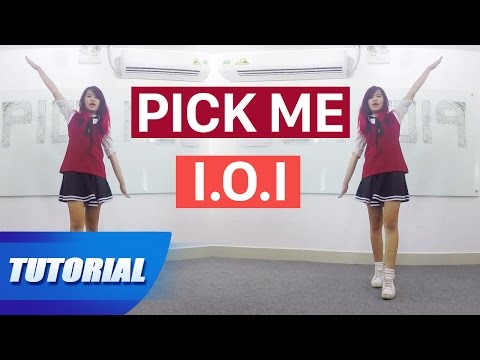 Tutorial Mirror | Dạy nhảy Produce101 프로듀스101 I.O.I - PICK ME dance tutorial | Panoma Dance Crew