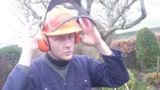 STHIL safety helmet demonstration