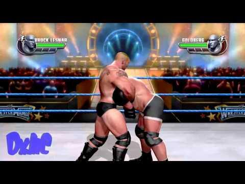 WWE All Stars - Brock Lesnar Vs Goldberg Gameplay
