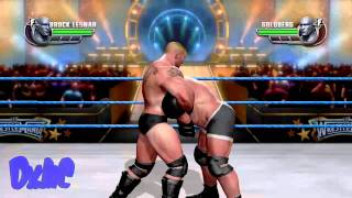 WWE All Stars - Brock Lesnar Vs Goldberg Gameplay