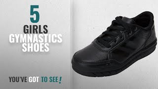 Top 10 Girls Gymnastics Shoes [2018]: adidas AltaSport CF, Unisex Kids' Low-Top Sneakers, Black