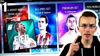 ES GEHT LOS!!! PACK OPENING!!! FIFA 18 Mobile App #1