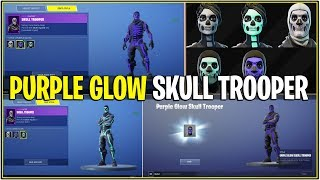 "«NOUVEAU» Fortnite: OG JOUEURS OBTENIR LE ""PURPLE"" SKULL TROOPER! (OG Skin Glow Secret!)"