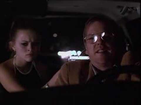 Freeway - scene in the car