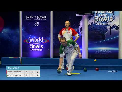 Just. 2020 World Indoor Bowls Championships: Day 1 Session 2