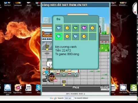 [GameDienThoai.InFo] Game Avatar 250 Online Hướng dẫn cày xu 1 ngày trên 400k từ bán ngọc và kcx