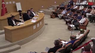 Akhisar Belediyesi 2020 yılı Eylül ayı meclis toplantısı