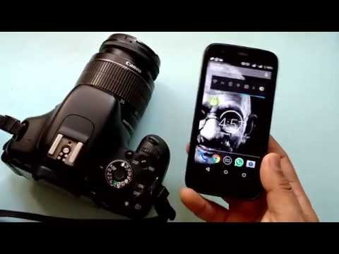 How to Connect - ANDROID Phone to a DSLR Camera (Canon 600D)
