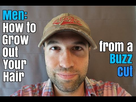 how to style hair men how to grow out your hair from a buzz cut 1129 | hqdefault