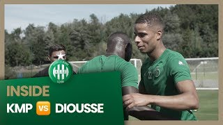 KMP versus Assane Diousse à l'entraînement