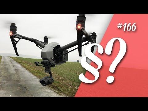 Drohne Fliegen, was beachten ? Neue Drohnen-Verordnung 2017  // deutsch // in 4K // #166