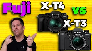 Fuji X-T4 vs X-T3 - Which is better for what type of creator?