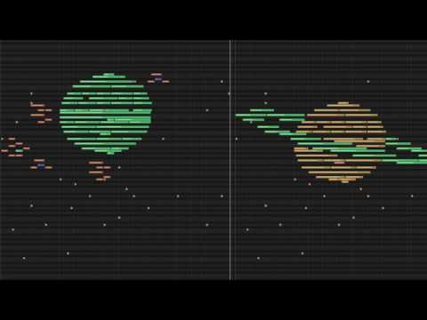 MIDI art - outer space