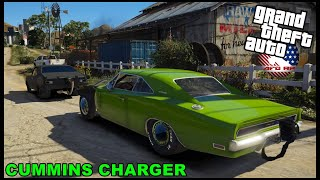 GTA 5 ROLEPLAY - CUMMINS DRAG CHARGER HITS THE STREETS! BACK ROAD DRAG RACING! - EP. 861 - AFG - CIV