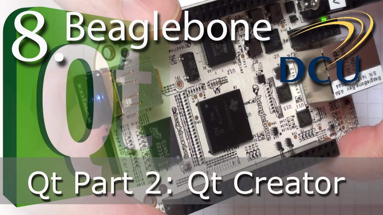 Qt on ARM Embedded Linux - The Beaglebone | derekmolloy ie