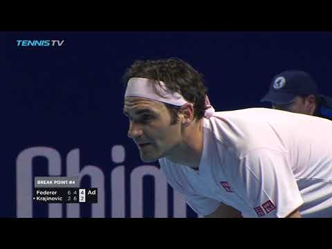 Federer Fights Through, Will Face Struff | Basel 2018 Highlights Day 2