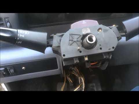 Мерседес Спринтер д208 / Mersedes Sprinter D208 Замена крестовины рулевого карданчика.