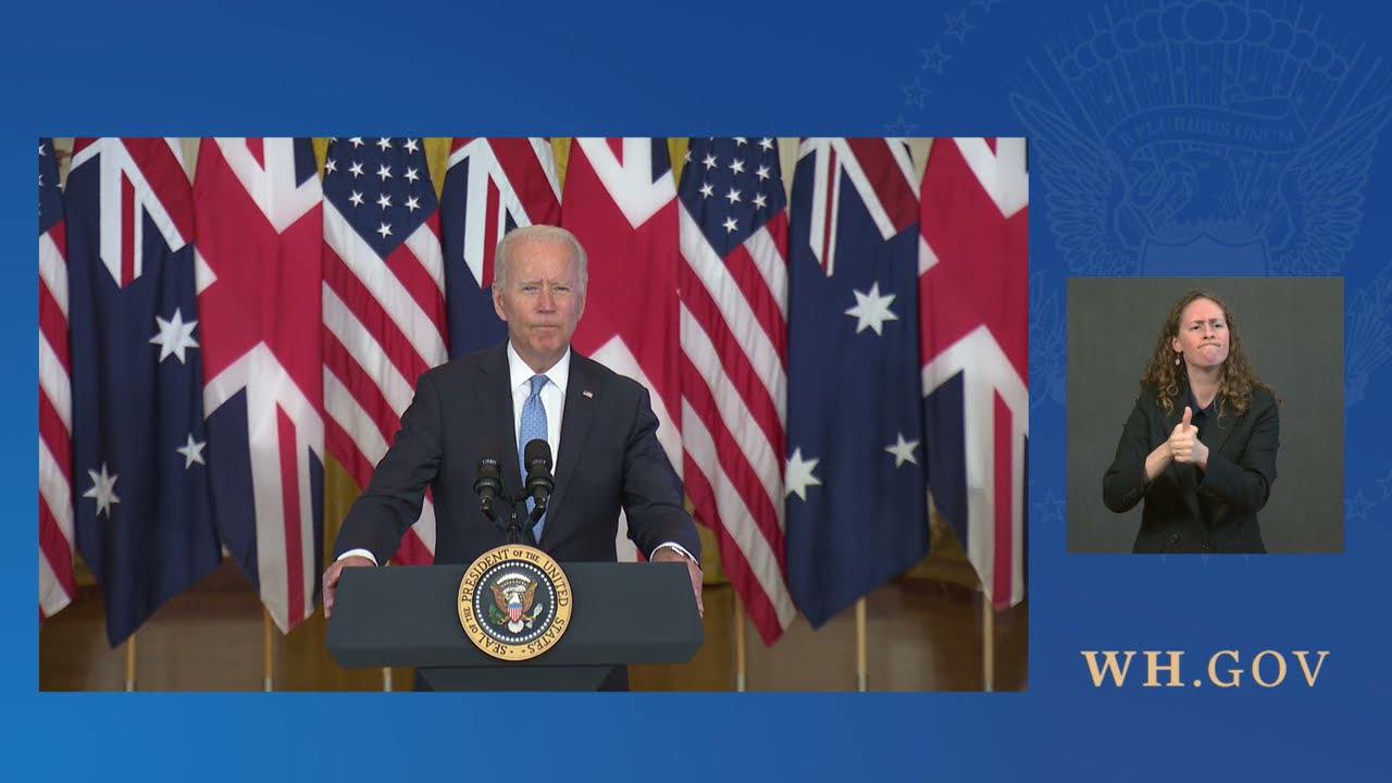 President Biden Delivers Brief Remarks About a National Security Initiative