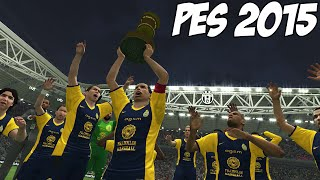 PES 2015 - Master League Gameplay, Final do Mundial de Clubes FIFA (Reus,Čech,Saviola,Maicon e Evra)