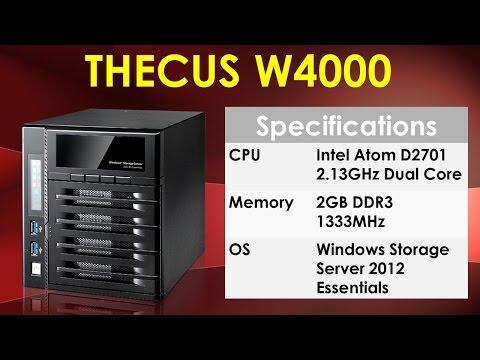 Thecus W4000 Windows Storage Server and Memory Upgrade