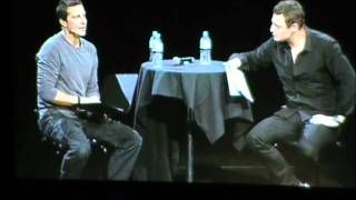 Bear Grylls Talks about SAS and parachute accident whilst training, Live On stage in Adelaide, Aus thumbnail