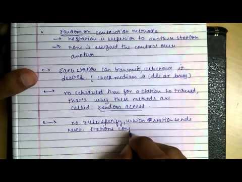 Multiple Access: Random Access Protocols