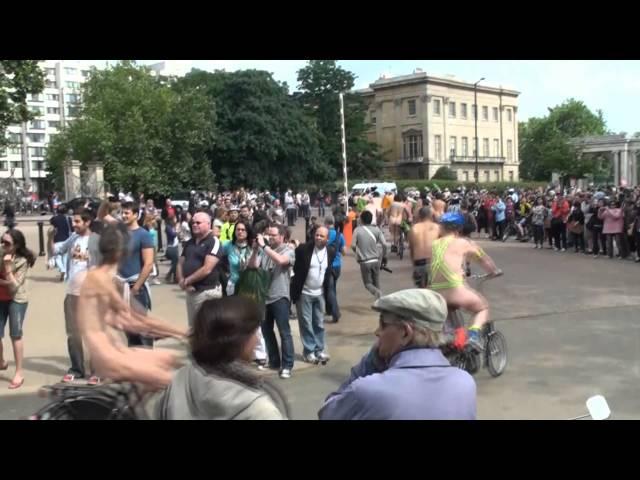 2010 London naked bike ride.