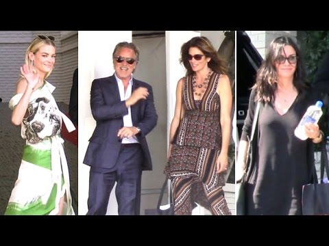 Cindy Crawford, Jaime King, Courteney Cox And More Attend Revlon Luncheon At Chateau Marmont