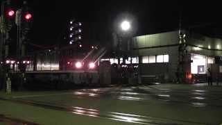 東京都交通局E5000形電気機関車 入場回送 神奈川新町駅発車