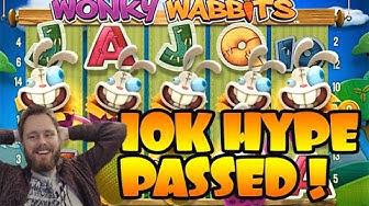 €10k RECORD-BREAKER, HUGE BETS Wonky Wabbit MONSTERWINS!!