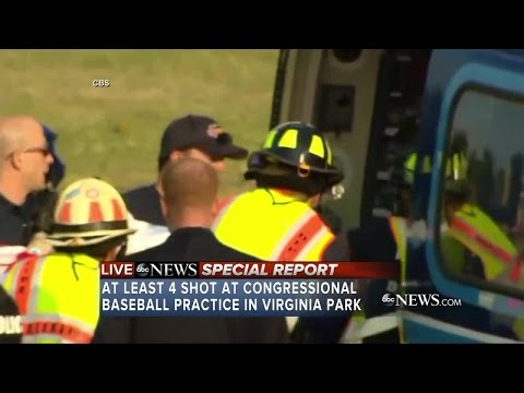 GOP House leader among those shot by gunman at Virginia park; suspect in custody