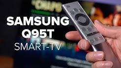 Smart-TV Samsung Q95T im Test: das Spitzenmodell | deutsch