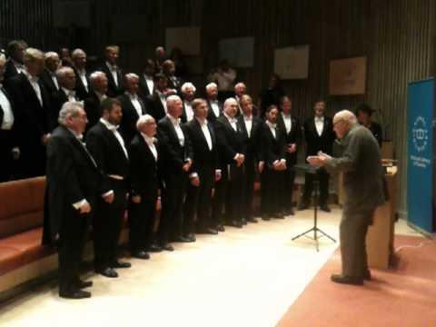 Eric Ericson dirigerar delar av OD och VeteranOD på KB i Stockholm 248 2011