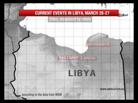Libyan uprising: fighting for cities' control