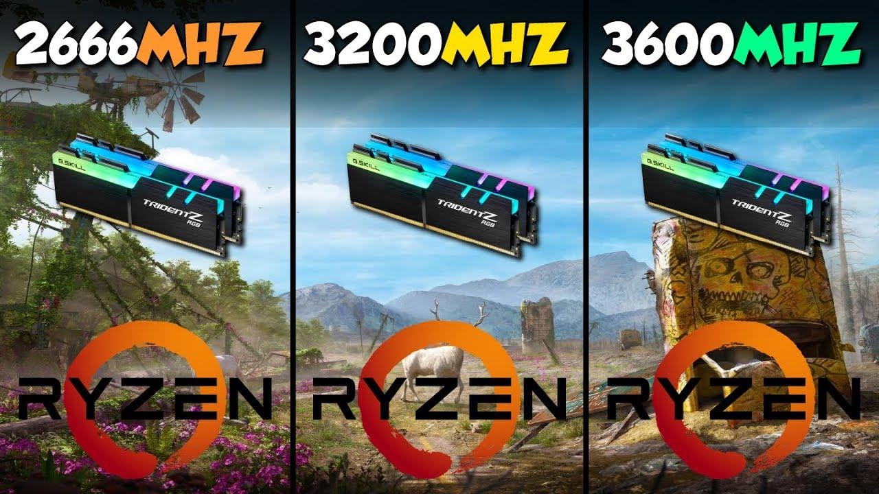 3600MHz vs 3200MHz vs 2666MHz: Best RAM for Ryzen 3000?