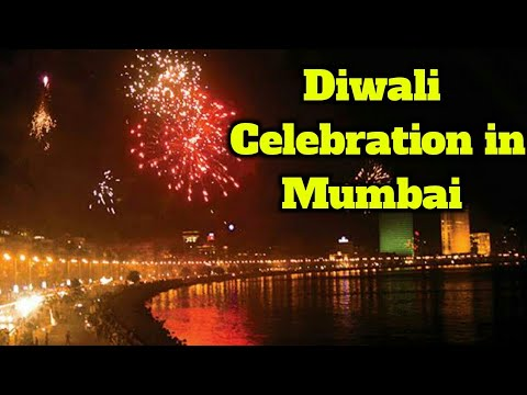 Diwali Celebration in Mumbai | Marine Drive | Taj Hotel | BMC Office | CST Station