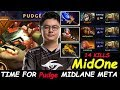 MidOne - [Pudge] MIDLANE SUPER TANK ANNOY HERO Core Meta Dota 2 7.22 Pro Gameplay